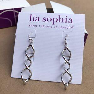 """Lia Sophia """"Twizzler"""" earrings"""